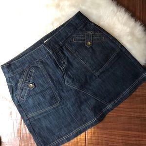 DKNY JEANS Denim Mini Skirt